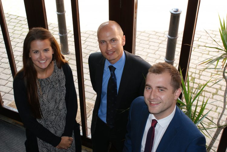 Gelder Accountants, (left to right) Elena Richardson, Russell Cunliffe and Arran Fullwood.