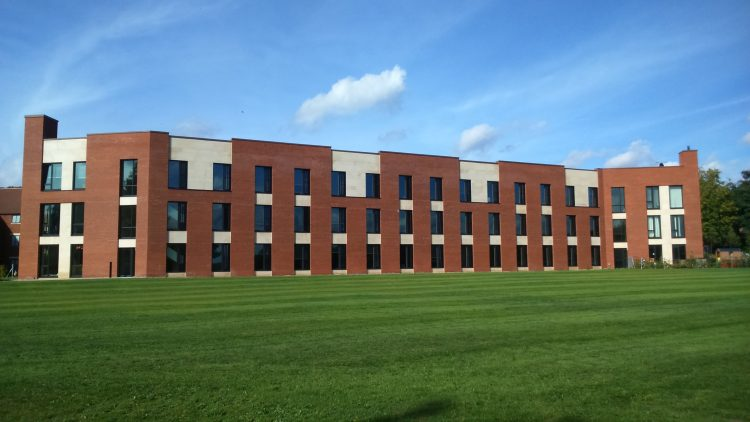 New Boarding House at Worksop College.
