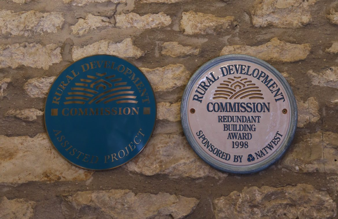 "Rural Development Commission's ""Redundant Building"" award."