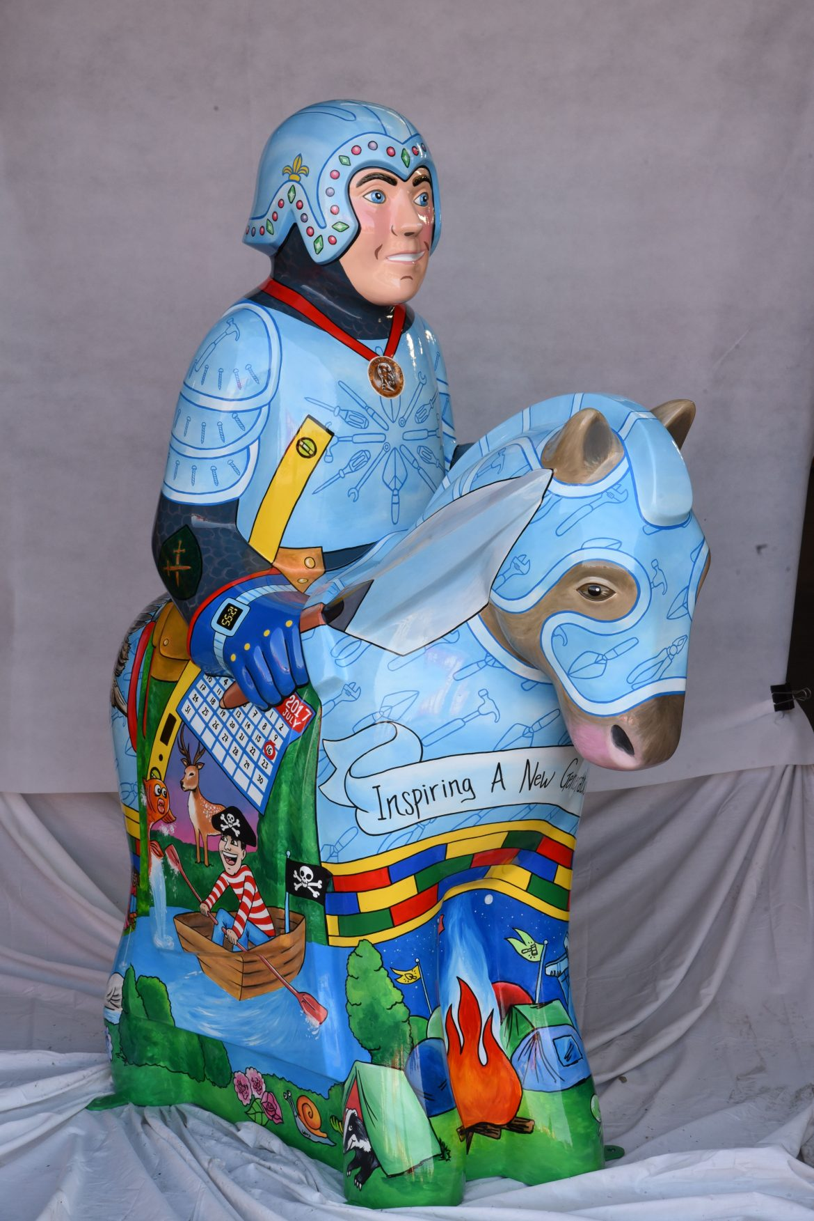 Lincoln Knights' Trail - Gelder Knight