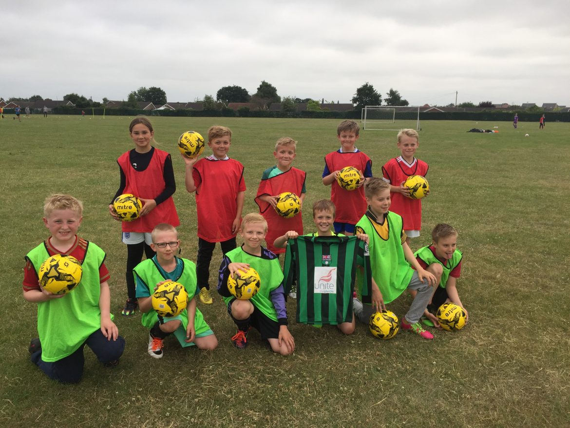 Greenbank Under 11's Football Team