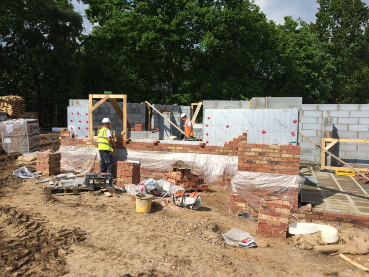 New house build in Skellingthorpe.