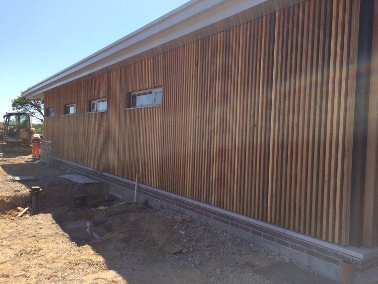 North Hykeham Community Hub nearing completion.