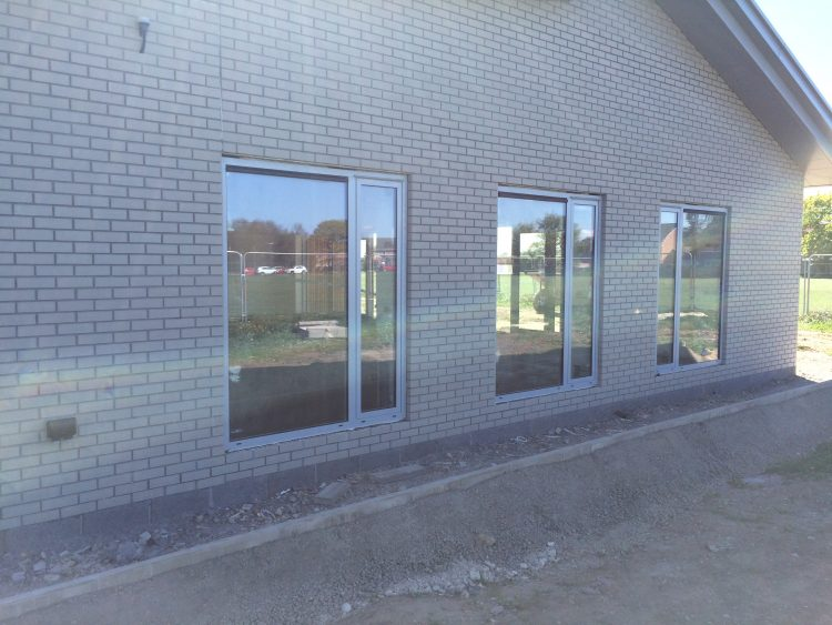North Hykeham Community Hub nearing completion.