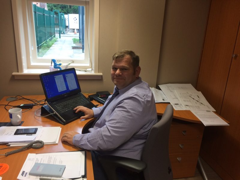 Neil Holt, Contracts Manager