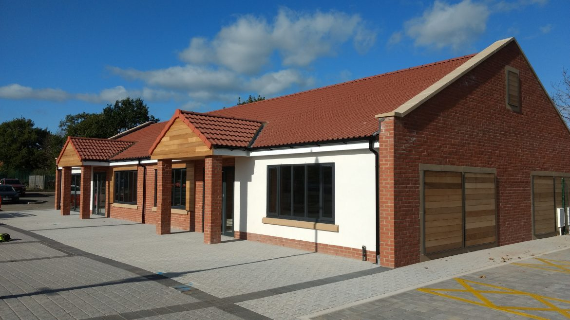 Witham St Hughs veterinary surgery and retail units.