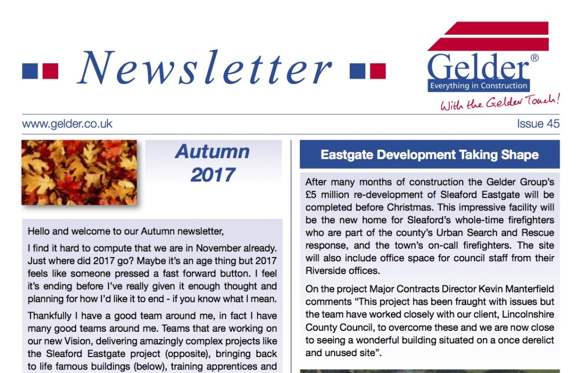 newsletters gelder group