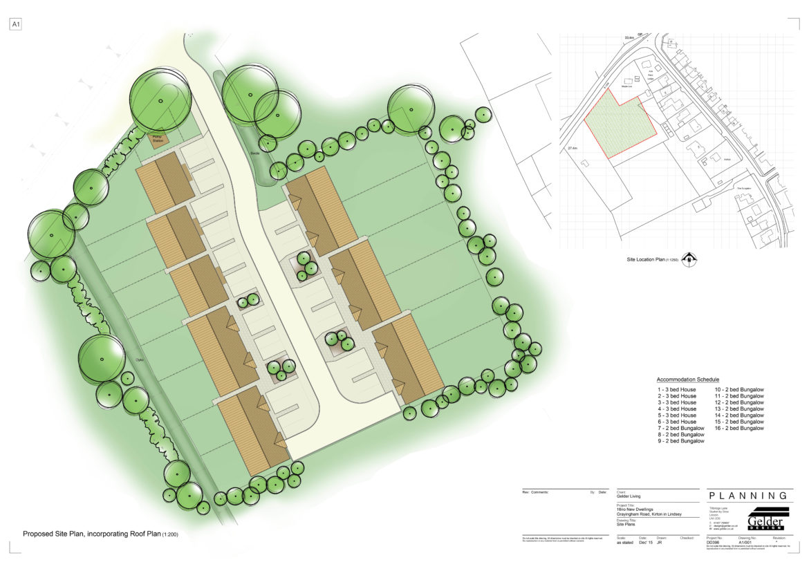Site Layout - Kirton-in-Lindsey