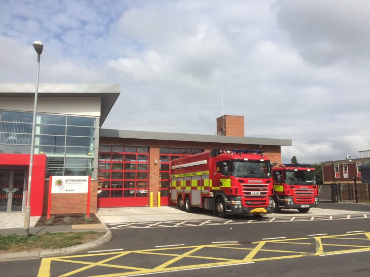 Newark Fire Station