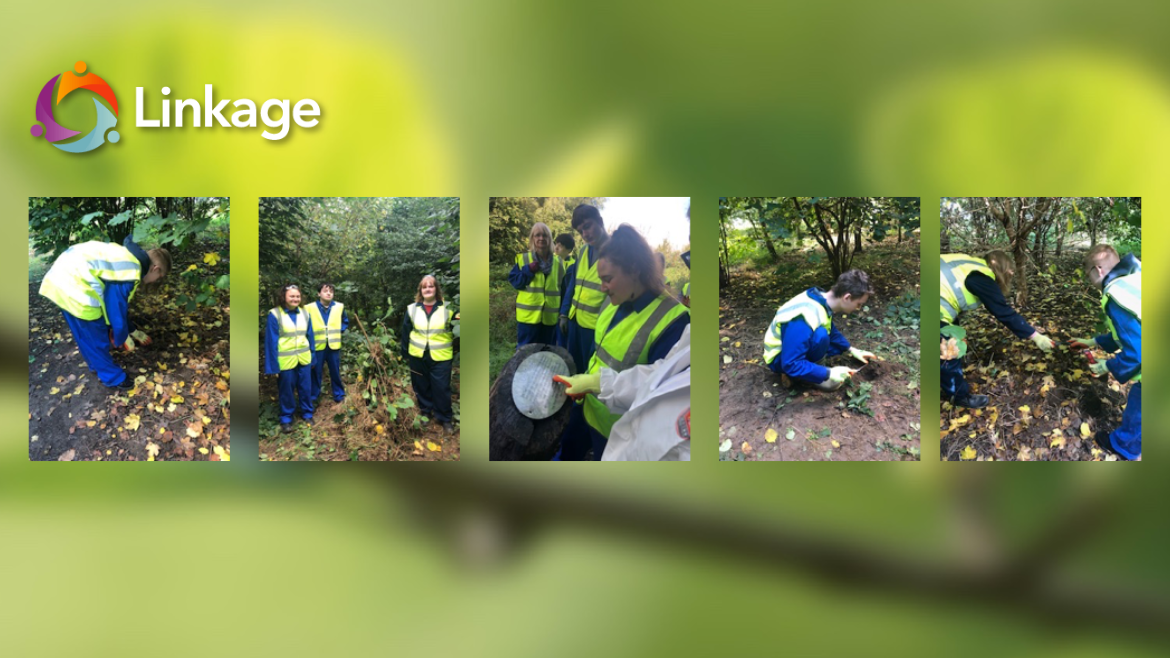 Linkage Students in the Environmental Park