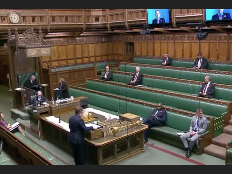 Gelder Group mentioned in Parliment