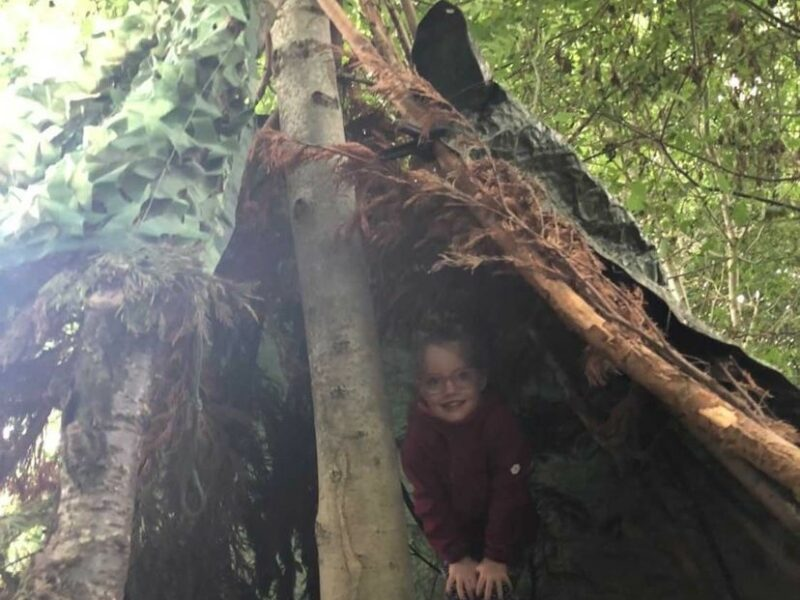 Wild in the Woods in action at the Gelder Environmental Park.